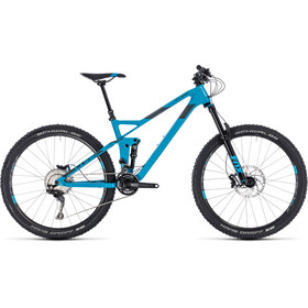 Cube Stereo 140 HPC Race Blue'n'Grey